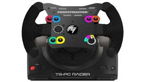 volante ps3 thrustmaster ts pc racer thrustmaster s attaque encore aux joueurs pc