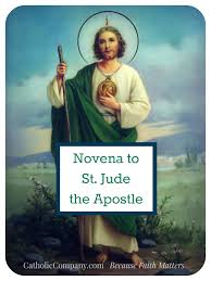 pray a novena to the patron of st jude