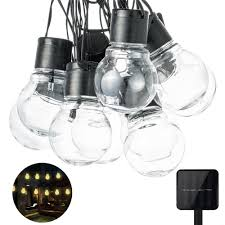 Clear Globe String Lights Outdoor by Online Buy Wholesale Solar Globes From China Solar Globes
