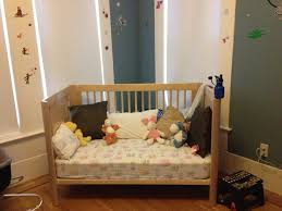 Changing Crib To Toddler Bed Wooden Crib That Turns Into Toddler Bedr Turn Bed 6c Top How To A