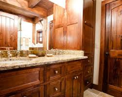 log home bathroom ideas small log cabins bathroom ideas houzz