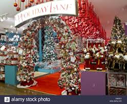 macy s department store displays nyc stock photo