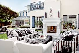 Black And White Designer Rooms Black And White Decorating Ideas - House beautiful living room designs