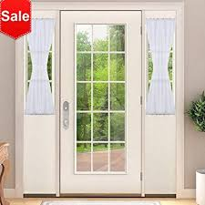 Side Panel Curtains Sidelight Panel Curtains For Door Nicetown