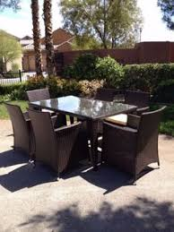 cube rattan garden outdoor furniture chairs patio 4 chair set fast