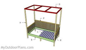 day bed plans outdoor daybed plans myoutdoorplans free woodworking plans and