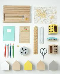 accessoires de bureau style vintage pour enfants