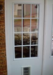 Exterior Cat Door Exterior Door With Built In Pet Door Xpd75 Low Prices Plus