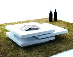 Coffee Tables With Led Lights High Gloss Coffee Table Led Top White High Gloss Coffee