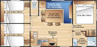 mobile home 3 chambres location mobil homes 3 chambres chalets à tournon sur rhône