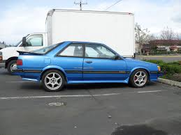 subaru xt 1989 view of subaru leone coupe photos video features and tuning of