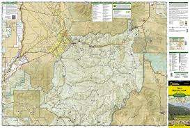 Map Of Taos New Mexico by Taos Wheeler Peak National Geographic Trails Illustrated Map