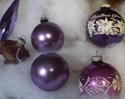 purple mercury glass etsy