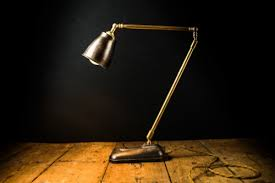 Tall Desk Lamp by Floor U0026 Desk U2014 Felix Lighting Specialists Vintage Industrial