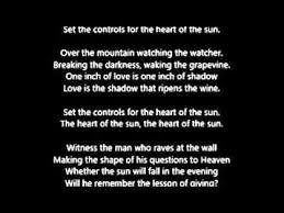 pink floyd set the controls for the of the sun lyrics