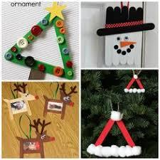 diy popsicle stick ornaments plus a tree topper