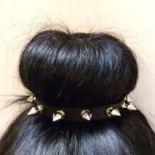 spiked headband scarf hair band studs rivet spikes headband fashion hair