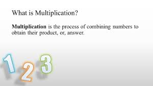 what is multiplication brought to you by powerpointpros ppt