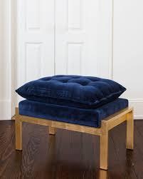 velvet chair and ottoman worlds away daelyn velvet chair ottoman