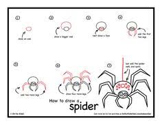 how to draw a spider art for kids hub how to draw to draw