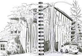 guest blog outdoor sketching by martha kelly