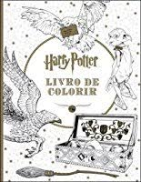 harry potter colouring book scholastic