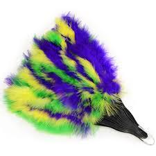 feather fan mardi gras feather fan 57221 mardigrasoutlet