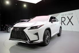 lexus years models 2016 lexus rx gets new face gutsier engines autoguide com news