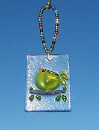 29 best glass fused birds images on glass stained