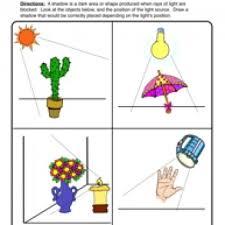 shadows worksheet 1