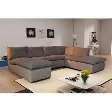canapé angle taupe modern sofa canapé d angle modulable avanti taupe panoramique