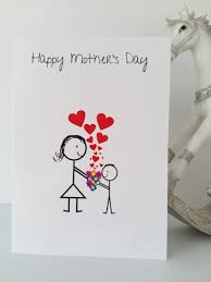 Mother S Day Greeting Card Handmade Mother U0027s Day Card Son Greeting Cards Lgbt Cards