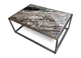 coffee table brazilian rosewood and black granite coffee table