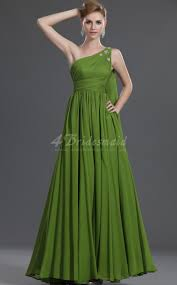 a line off the shoulder long lime green chiffon bridesmaid dresses
