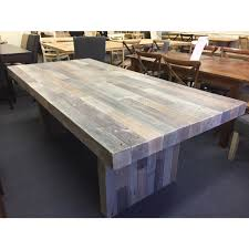 Reclaimed Timber Dining Table Soho Solid Recycled Timber Dining Table 210x100cm