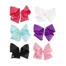 jojo siwa large rhinestone bows assorted kmart