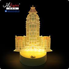 3d night light types lamp creative decoration led light happy