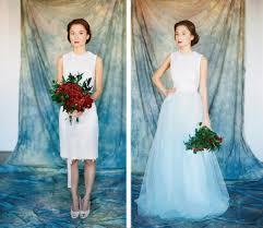 ombré wedding dress etsy finds dip dyed ombre wedding dresses deer pearl flowers