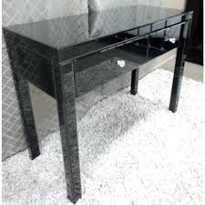 Quartz Console Table Quartz Black Mirrored Console Table Mirror Set Black Mirrored