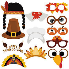 thanksgiving props unomor thanksgiving day photo booth props 38 pcs happy thanksgiving