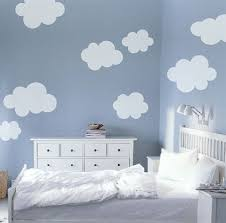 Wall Bedroom Stickers Fluffy Clouds Vinyl Decal Wall Sticker By Elmostudio On Etsy Could
