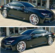 rcf lexus 2016 ace 1 black 2016 lexus rc f sport on 22