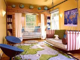 Decoration Beautiful Kids Bedroom For by Kids Room Interior Beautiful Floral Wall Mural With Blue