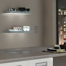 the box shelf light is a modern floating shelf design with