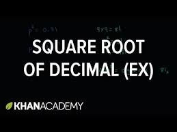 What Is The Square Root Of 1000 Square Root Of Decimal Video Radicals Khan Academy