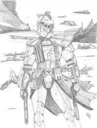 wars clone wars arc trooper coloring pages