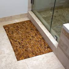 Wood Shower Door by Bathroom Dark Teak Shower Mat With Floating Teak Shower Stools