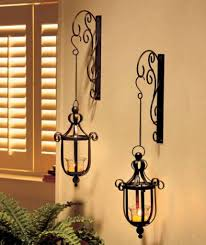 new scrollwork wall mounted hanging candle lanterns wall sconce