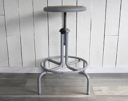 Chair For Drafting Table Drafting Stool Etsy