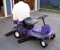 redneck backyard zamboni ice resurfacer with pictures
